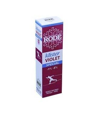 Rode Klister Violet Special K36 -1C°/ -5C° |60g|