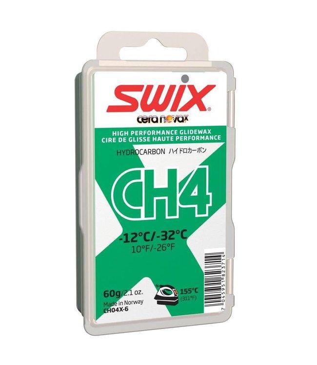 Swix CH4 HydroCarbon Glide Wax (-12C/-32C 60G)
