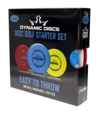 Dynamic Discs Easy To Throw Starter Set