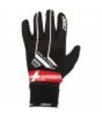 KV+ COLD PRO SWISS GLOVES BLACK/RED (2018)