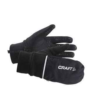 Craft HYBRID WEATHER GLOVE, BLACK - W