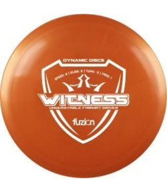 Dynamic Discs Witness Fuzion