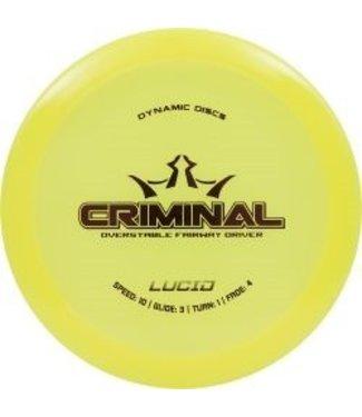 Dynamic Discs CRIMINAL LUCID