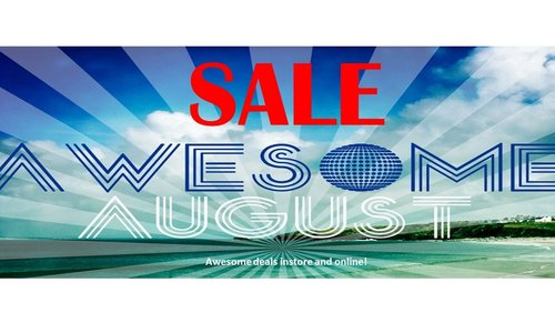 Awesome August SALE