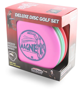Discraft Deluxe Disc Golf Set 4 Disc