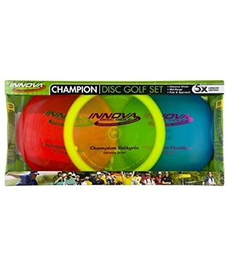 Innova 3 Pack Champion Disc Golf Set