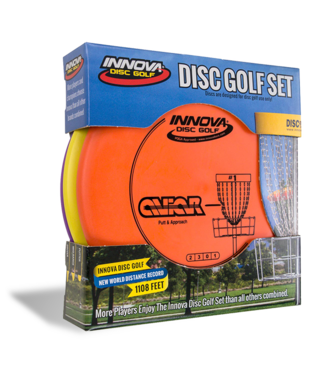 Innova 3 Pack DX Disc Golf Set