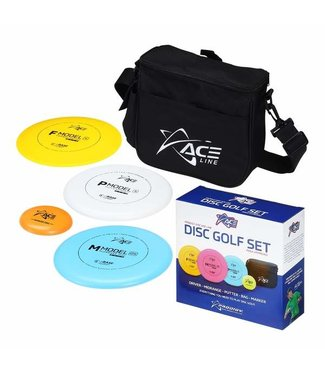 Prodigy Ace 3 Pack Disc Golf Starter Box Set [includes Bag & Marker]