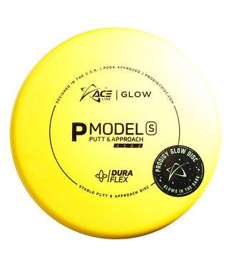 Prodigy Ace Line Putter - S, Glow DuraFlex