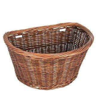 Oxford Trinity Deluxe Wicker Basket D-Shape