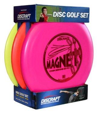 Discraft Beginner Pro D Disc Golf Set Three Pack