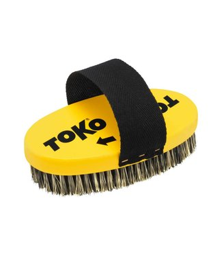 Toko Base Oval Steel Wire Brush