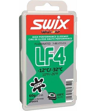 Swix LF4 Glide Wax -12C/-32C |60 G|