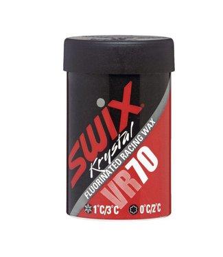 Swix VR70  Fluorinated Kick/Grip Wax 0C/+2C |45G|