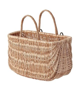 Basil - Swing basket, Varnished Natural