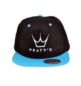 PEATY'S PEATY'S SNAPBACK CAPS BLUE