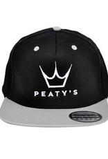 PEATY'S PEATY'S SNAPBACK CAPS GREY