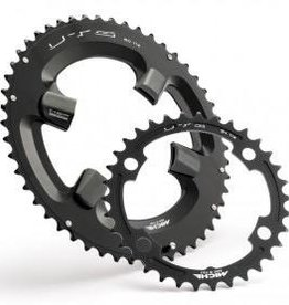 SRM CHAINRING MICHE-UTG TEETH SET 110 BCD-XXX-BLACK