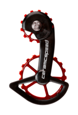 Ceramic speed OSPW SHIMANO 9100/8000 13+19T ROUGE NON COATED