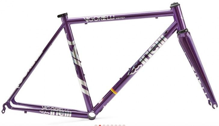 Cinelli FRAMEVIGORELLI ROAD STEEL PURPLE 2019
