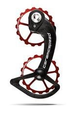 Ceramic speed OSPW, SHIMANO  10+11S (ULTEGRA+DURA ACE) COATED, 17T, ALLOY, RED