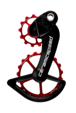 Ceramic speed OSPW CAMPY 12S RED NON COATED