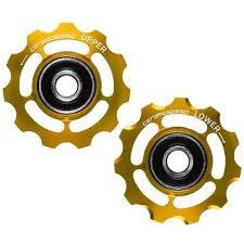 Ceramic speed PULLEY WHEEL SRAM 11S GOLD NON COATED