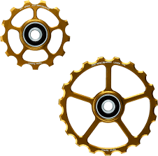 Ceramic speed SPARE OSPW PULLEY WHEEL 13/19T GOLD COATED