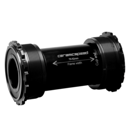 Ceramic speed BB T45 SHIMANO BLK COATED
