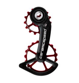 Ceramic speed OSPW SRAM AXS RED/FORCE RED NON COATED
