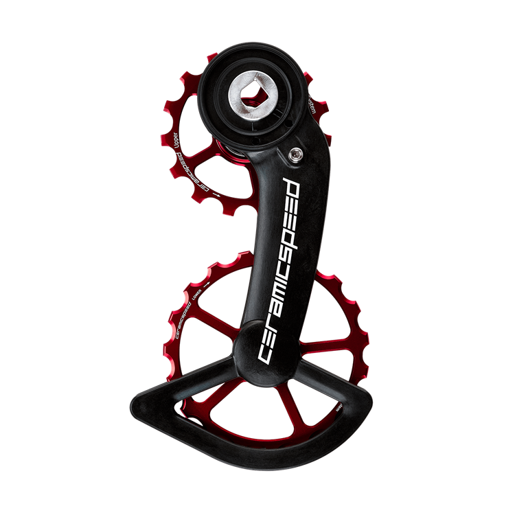 Ceramic speed OSPW SRAM AXS RED/FORCE ROUGE COATED