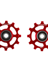 Ceramic speed GALETS SRAM AXS 12S ROAD ROUGE COATED
