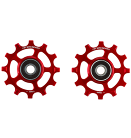 Ceramic speed PULLEY WHEEL SRAM AXS 12S ROAD RED COATED