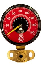 Silca SUPER PISTA ULTIMATE REPLACEMENT GAUGE KIT 160 PSI (RED)