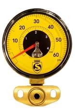Silca SUPER PISTA ULTIMATE JAUGE DE REMPLACEMENT 60PSI (JAUNE)