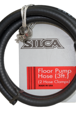 Silca REPLACEMENT HOSE 3FT W/CLAMP