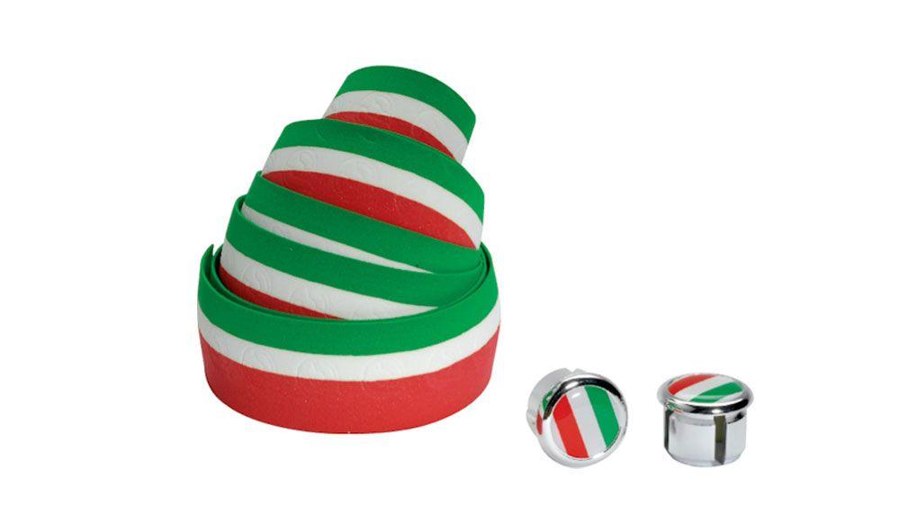 Cinelli BAR TAPE ITALIAN FLAG RED/WHITE/GREEN