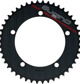 SUGINO CHAINRING SINGLE COOL MESSENGER PJ130 BLACK