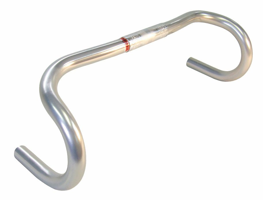NITTO HANDLEBAR SILVER ANODIZED NOODLE BAR 26.0 FOR TOURING
