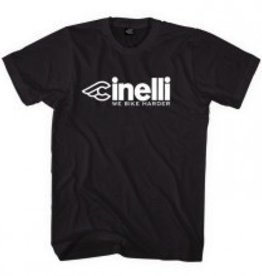 Cinelli WE BIKE HARDER BLACK