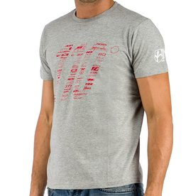 WILIER WILIER T-SHIRT GRIGIA 110
