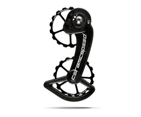 Ceramic speed OSPW SRAM (MEC) 10+11S BLK, COATED