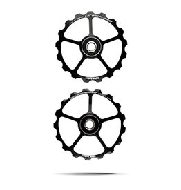 Ceramic speed PULLEY WHEEL (SPARE) 17T BLK, NON COATED