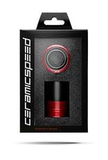 Ceramic speed PF4630(PRESS FIT30+BBRIGHT+386EVO/BB30) 30 MM CRANK RED, NON COATED