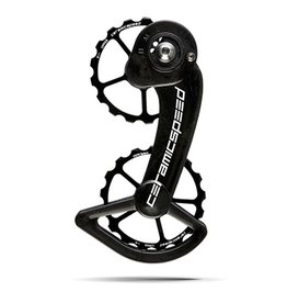 Ceramic speed CERAMICSPEED, OVERSIZED PULLEY WHEEL, SRAM 10+11S (MECHANCIAL) 17T, ALLOY, BLK, NON COATED