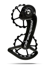 Ceramic speed CERAMICSPEED, OVERSIZED PULLEY WHEEL, SRAM ETAP, 17T, ALLOY, BLK, NON COATED