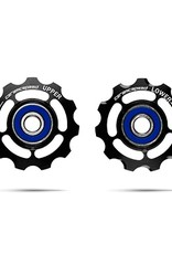 Ceramic speed PULLEY WHEELS SRAM 11S ROUTE, BLK, NON COATED