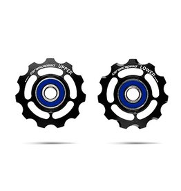 Ceramic speed PULLEY WHEELS SRAM ROAD 11S BLK, NON COATED