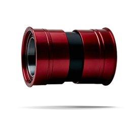 Ceramic speed CERAMICSPEED, BB PF4630 COATED (PRESS FIT30+BBRIGHT+386EVO/BB30) RED 30mm CRANK