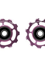 Bicycle Line GALETS SHIMANO 11S ROSE NON COATED
